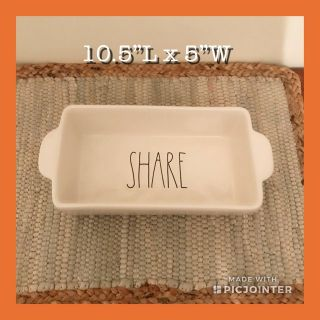 Rae Dunn New SHARE Loaf Dish