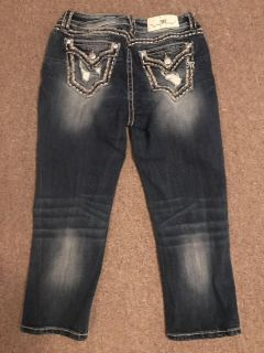 Miss me size 27 easy crop