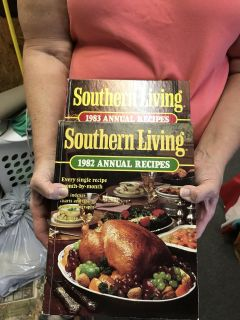 Southern Living 1982 and 1983 Vintage. A pair
