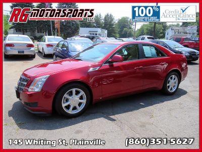 2009 Cadillac CTS 3.6L DI (Red)