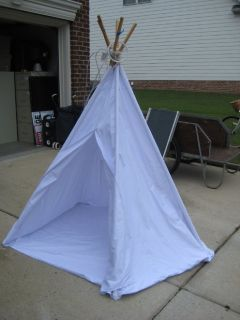 6' Tall Kid's Indoor/Outdoor Teepee