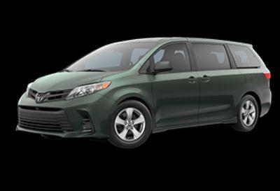2019 Toyota Sienna L (Alumina Jade Metallic)