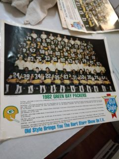 1982 Hellman's Old Style Packer poster