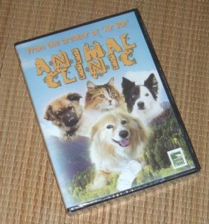 NEW Animal Clinic DVD from Creator of Air Bud SEALED Animal Planet