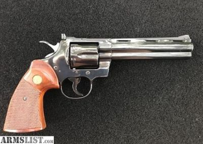 For Sale: Colt Python unfired condition Royal Blue Perfect