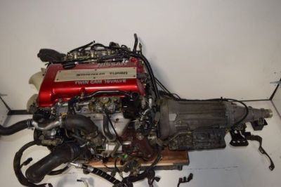 Buy JDM Nissan Silvia SR20DET S13 Red TOP Engine Automatic RWD Transmission and Wire motorcycle in Franklin Park, Illinois, United States, for US $1,999.99