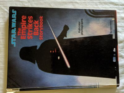 1980 Star Wars Empire Strikes Back Storybook