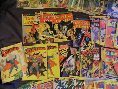 BUYING pre1977 comic books
