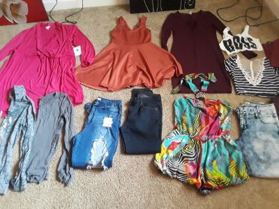 Young adult clothes