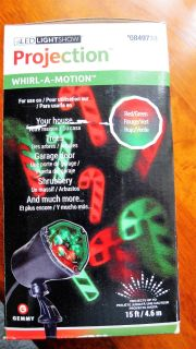 Christmas LED Projection Light Show~New in Box