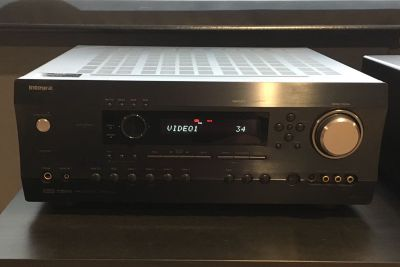 Integra DTR-5.5 home theater receiver.