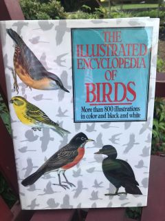 Illustrated Bird Book GREAT CONDITION800 illustrations