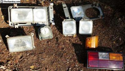 Vanagon Headlights, Turn Signal, Tail Light