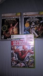 Star Wars and Marvel Xbox Games