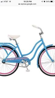 ISO adult bicycle with pedal brakes