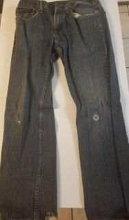 Navy Blue Levis Strauss & Co 559 Quality Clothing Jeans Size 32W 32L
