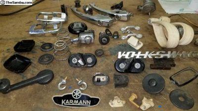 1971 convertible parts lot
