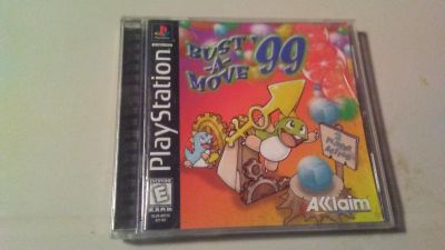 Bust A Move PlayStation game