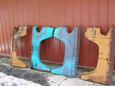 Buy 1958, 59, 60 Dodge D-100 Sweptside Front Fenders motorcycle in Springfield, Ohio, United States