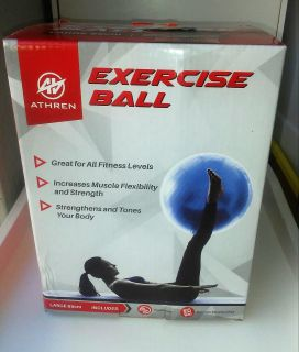 Large Yoga Exercise Ball 65 cm, New in Box
