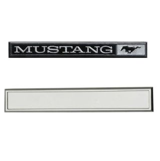Purchase 69-70 MUSTANG DASH EMBLEM AND BEZEL SET, MUSTANG motorcycle in Sheffield Lake, Ohio, US, for US $32.95