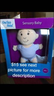 One Step Ahead Sensory Baby doll