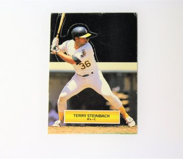1988 Terry Steinbach Catcher Oakland Athletics Leaf Stand-Up All Stars