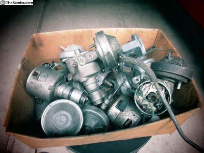 Box of VW Distributors