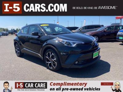 2018 Toyota C-HR XLE Premium (black)