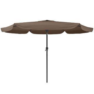 Tilting Patio Umbrella- Sandy Brown