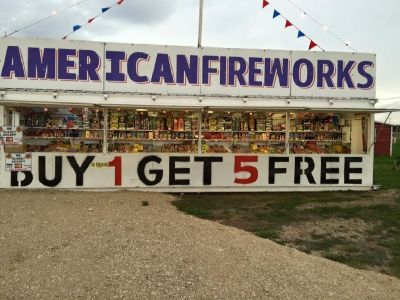 Operate A Fireworks Stand