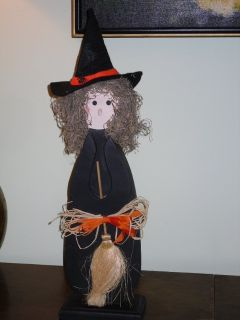 """cute 20.5"""" halloween witch"""