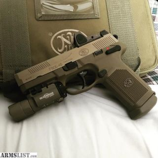 For Sale/Trade: FN FNX 45 Tactical w/ Surefire and trijicon
