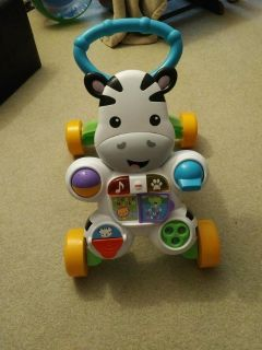 Fisher Price Learning with me Zebra Walker