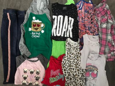 Lot of size 10 girls items