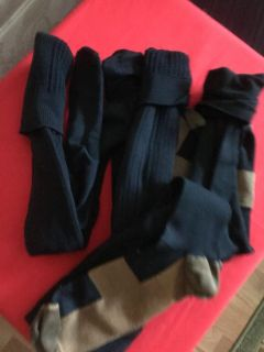 MENS SUPPORT SOCKS ( compression) ... 4 PAIR... SIZE 10-12 shoe