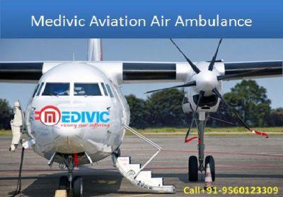 Chose the Best Medivic Air Ambulance from Kolkata to Delhi