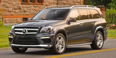 2015 Mercedes-Benz GL 550  SUV (White)