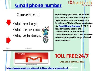 Is Toll- free 1-850-316-4893 Gmail Phone Number Available At A Nominal Cost?
