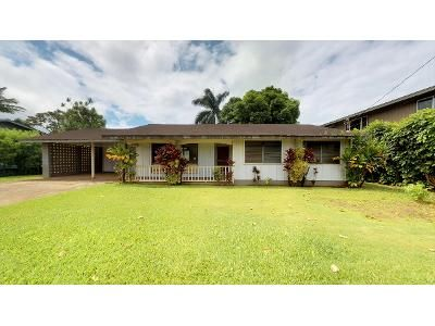 3 Bed 1.5 Bath Foreclosure Property in Kilauea, HI 96754 - Kilauea Rd