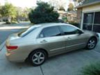 2004 Honda Accord Silver