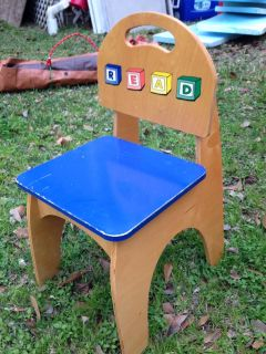 Kid chair- solid wood