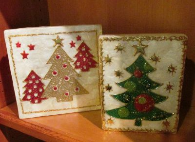 Decorated Sturdy Gift or Display Boxes