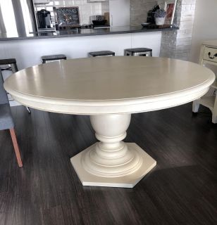 Paula Deen dining room table with elegant entrance table