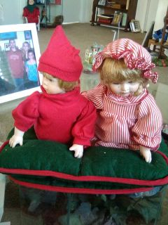 Musical Christmas Dolls
