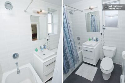 Furnished Private Bed/Bath - Washer/Dryer, Roofdeck, Balcony - Near Five Train Lines