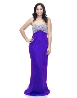 Homecoming/Prom Strapless Gown w/train