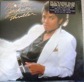 Michael Jackson Thriller Album Vinyl LP Unopened-MINT