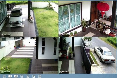 ALAN'S SECURITY CAMERA SYSTEMS PROFESSIONALLY INSTALLED $380 (for installing a 4 camera system)