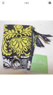 Vera Bradley Baroque(retired) Double ID Wristlet New without tags